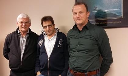 Willem Hartman, Ruud van Schie en Hille Bergstra
