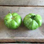 Grüne Zebra-Tomate