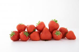 Biologische aardbeien